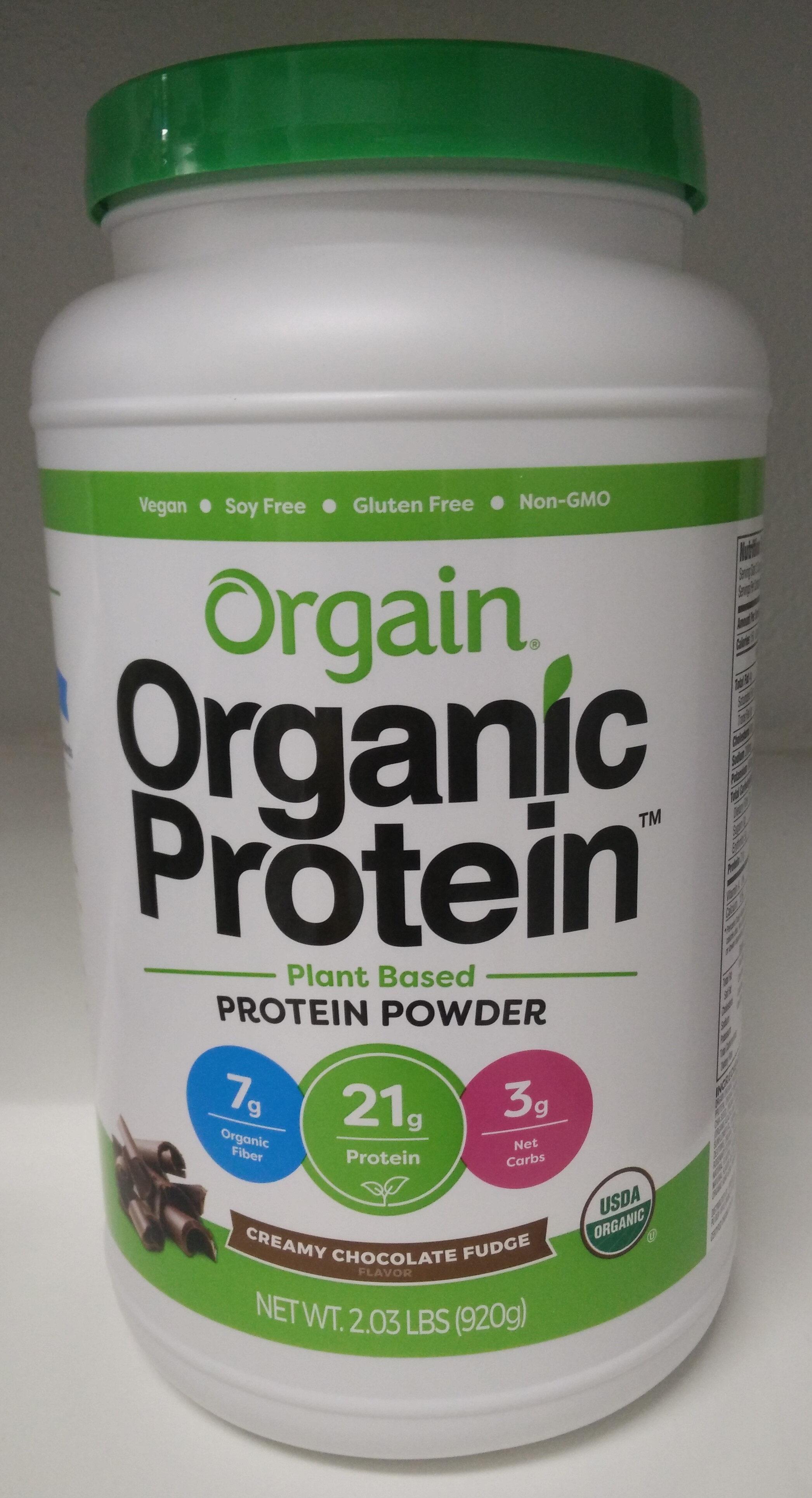 Creamy Chocolate Fudge Plant Based Protein Powder - Product - en