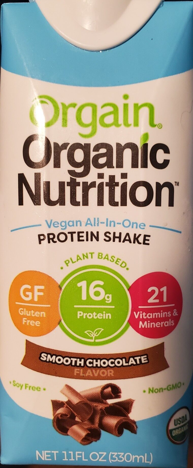 Smooth Chocolate Vegan All-In-One Protein Shake - Product - en