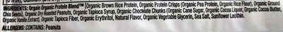 Peanut butter chocolate chunk plant based protein bar, peanut butter - Ingredients - en