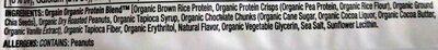 Orgain protein snack bar - Ingredients - en