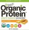 Organic plant based protein powder peanut butter - Product