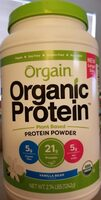 Vanilla bean plant based protein powder, vanilla bean - Product - en