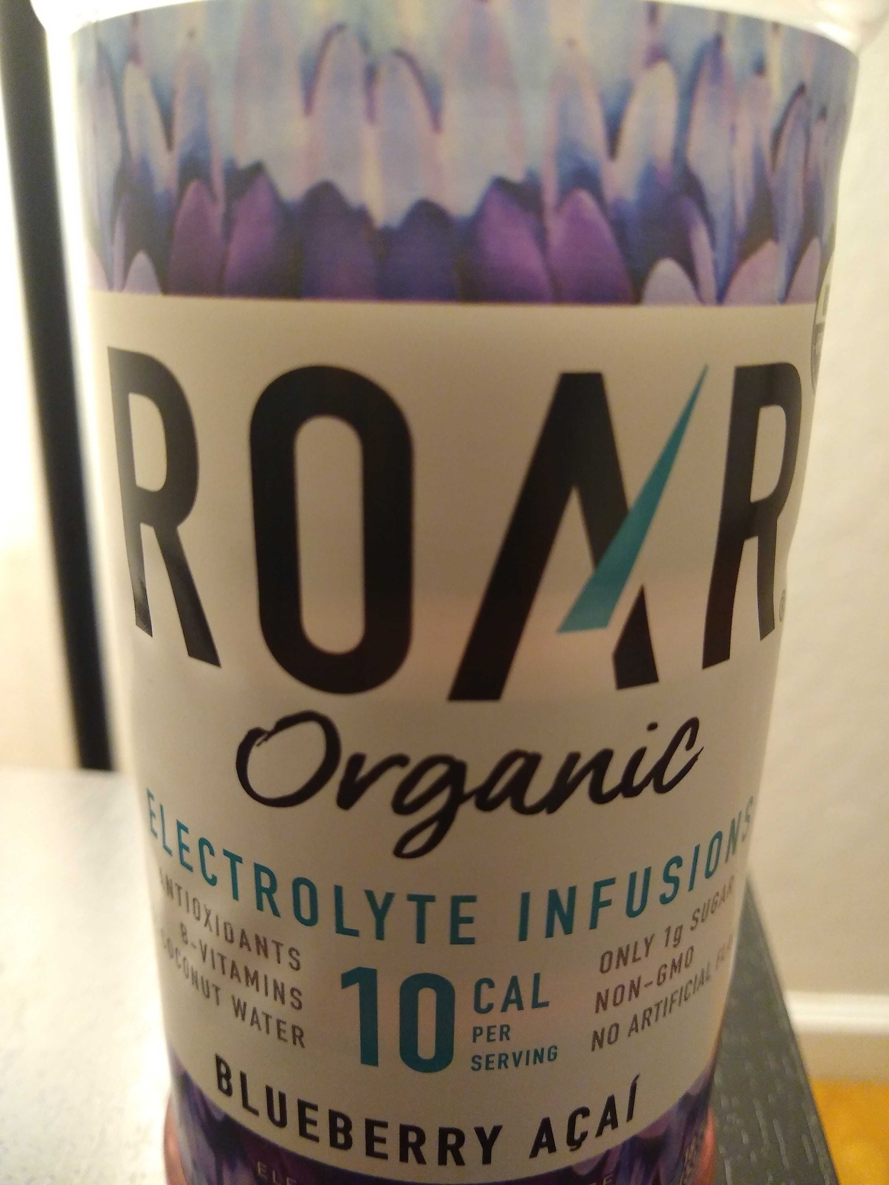 Organic electrolyte infusions blueberry acai - Product