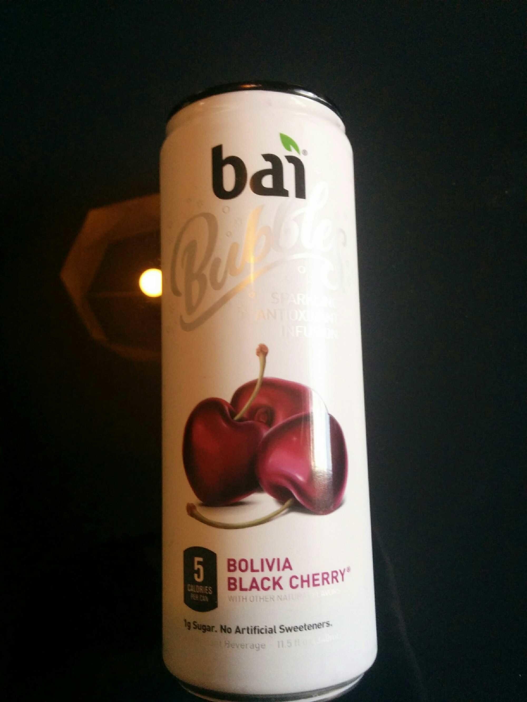 Bubbles Sparkling Antioxidant Infusion, Antioxidant Beverage, Bolivia Black Cherry - Product