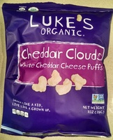 White cheddar clouds cheese puffs - Product - en