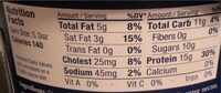 Probiotic Skyr Vanilla & Chamomile - Nutrition facts - en