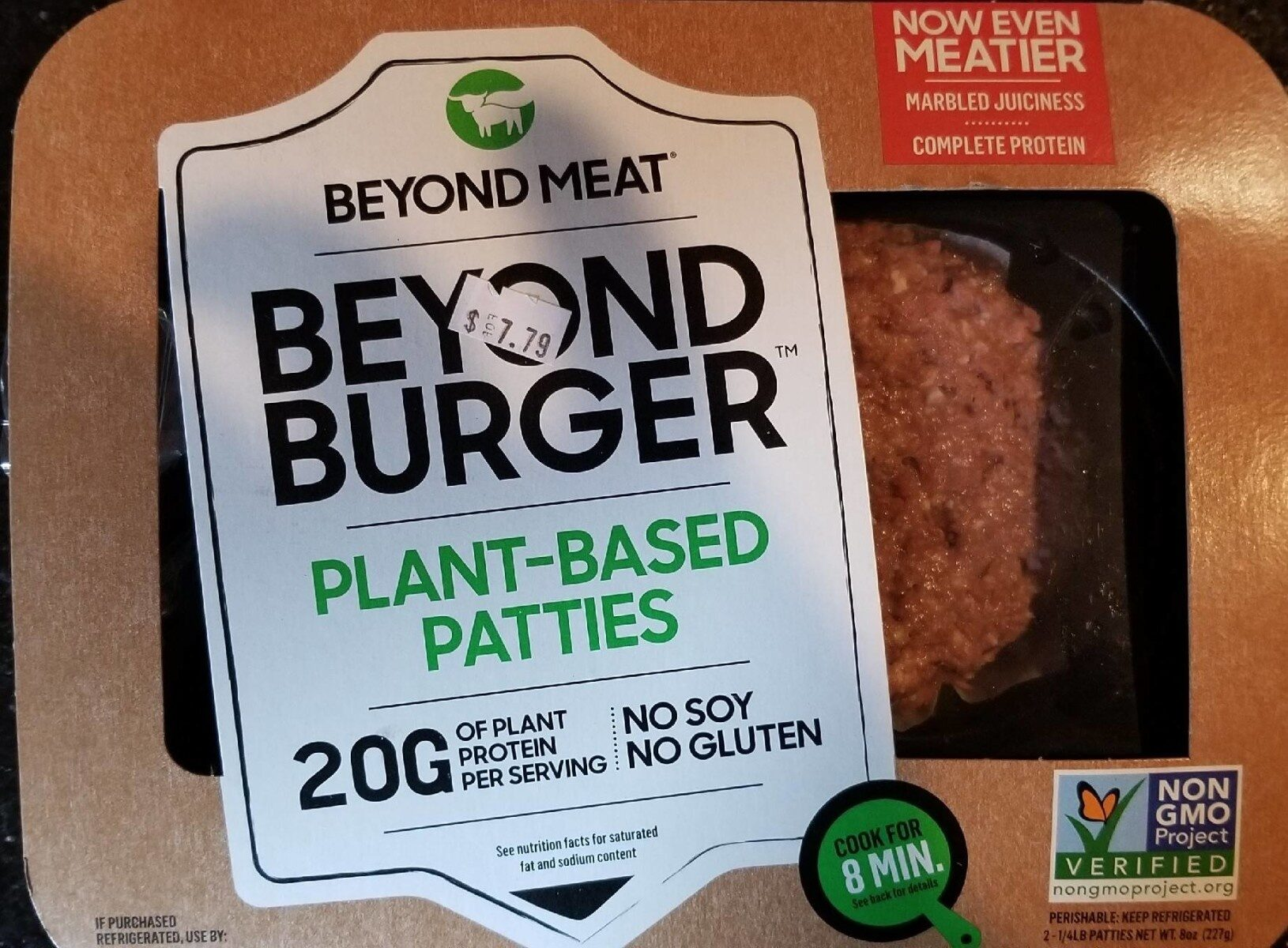 Plant based burger patties - Product