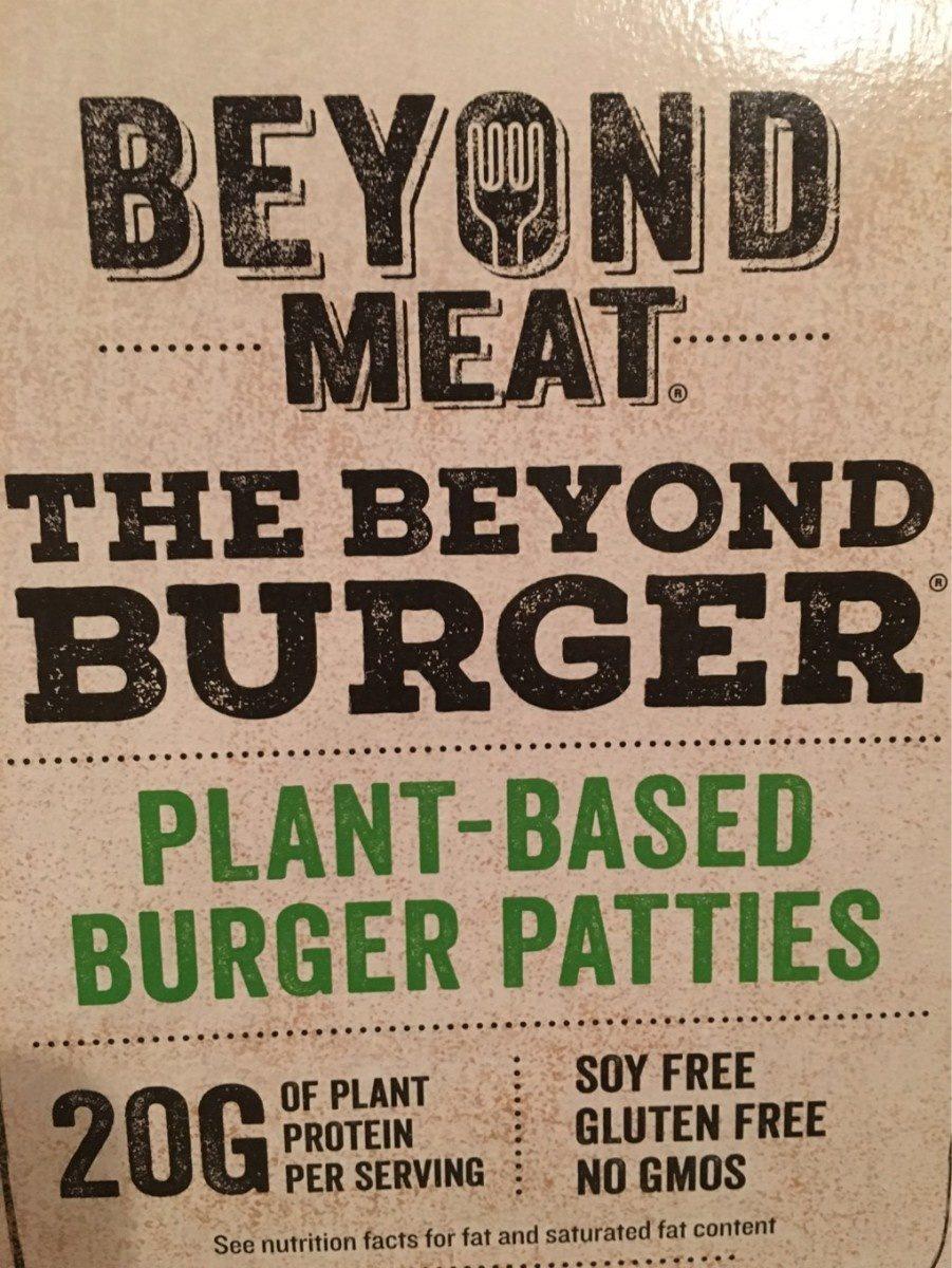 Plant based burger patties - Produit