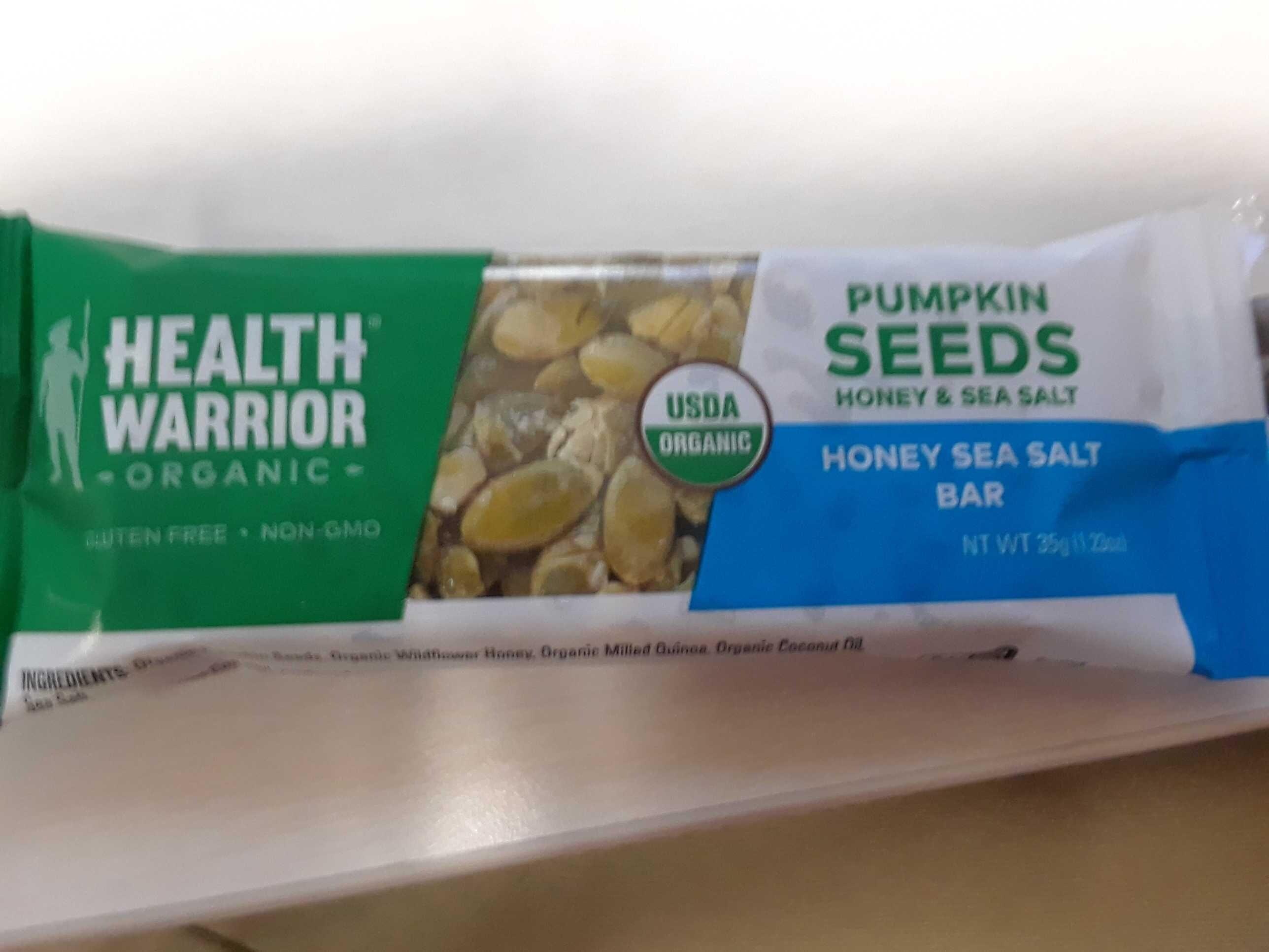 Pumpkin seed honey bar - Product