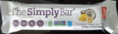 Protein Bar, Lemon Coconut - Product - en