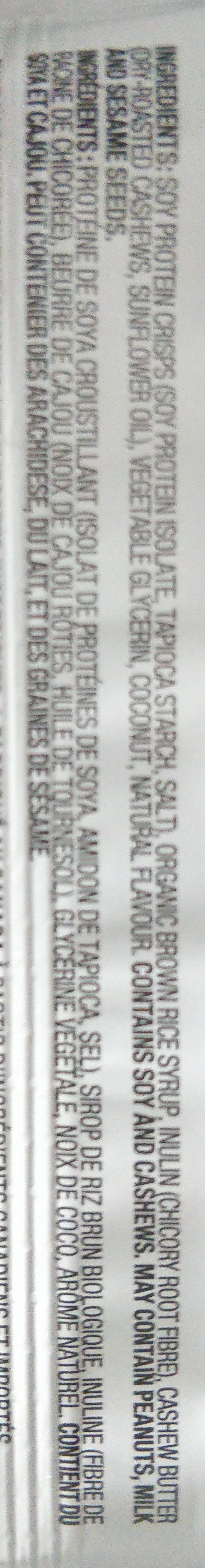 Protein Bar, Lemon Coconut - Ingredients - en