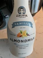 Vanilla almondmilk, vanilla - Product - en