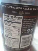 Maple syrup, robust - Nutrition facts - en