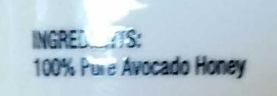 Avocado Honey - Ingredients - en