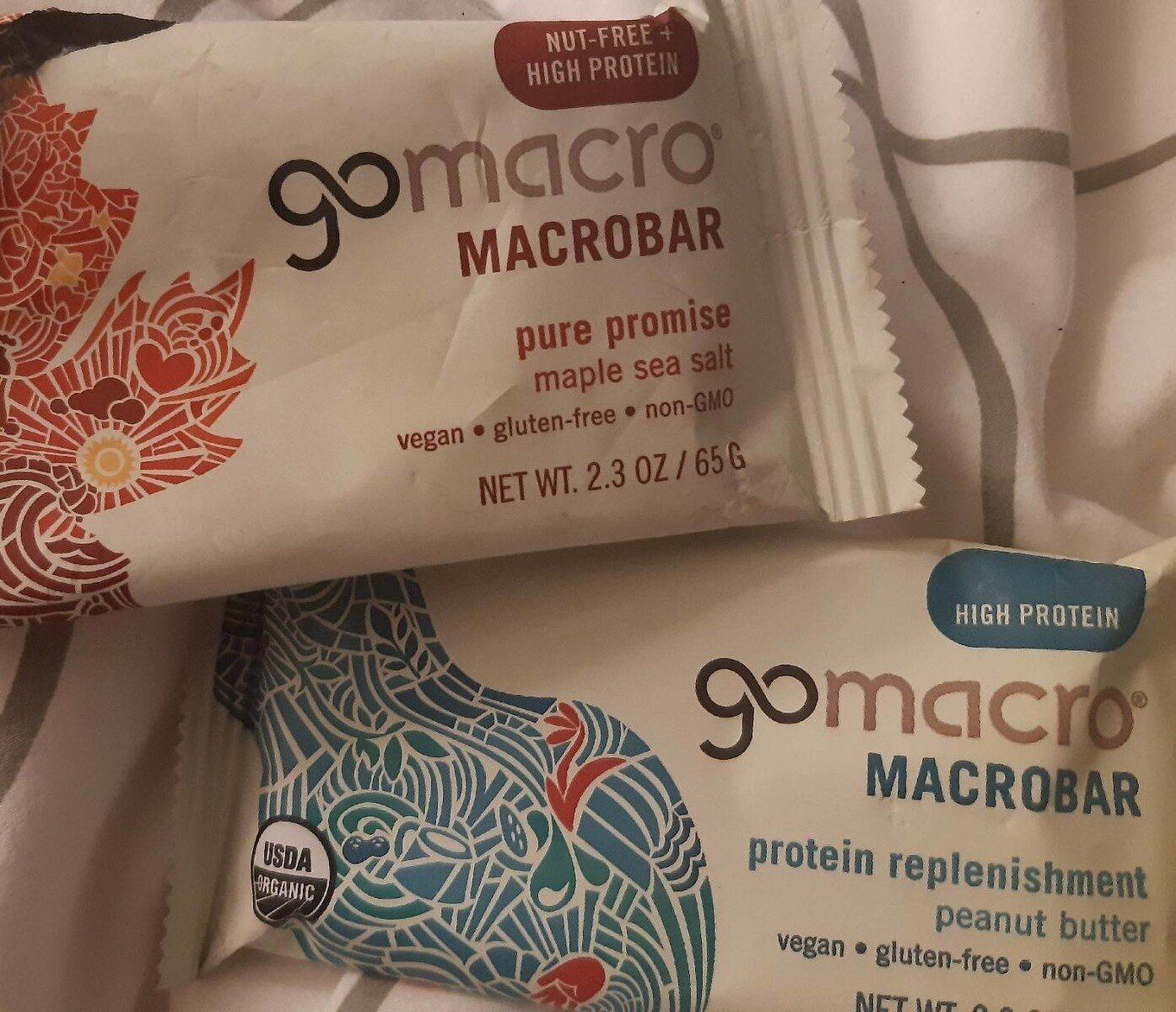 Maple sea salt pure promise macrobar, maple sea salt - Product - en