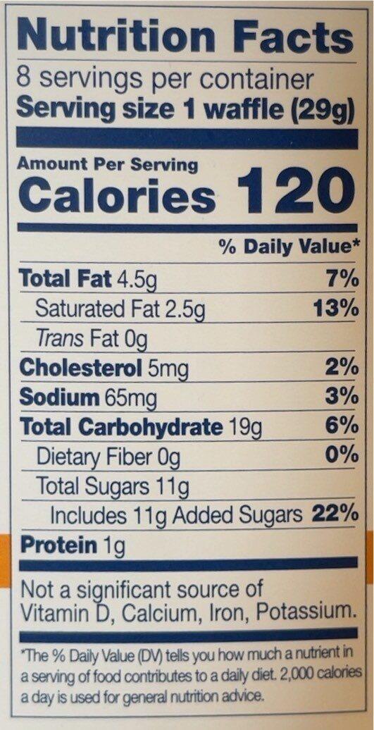 Wafer crml stroopwafel - Voedingswaarden - en