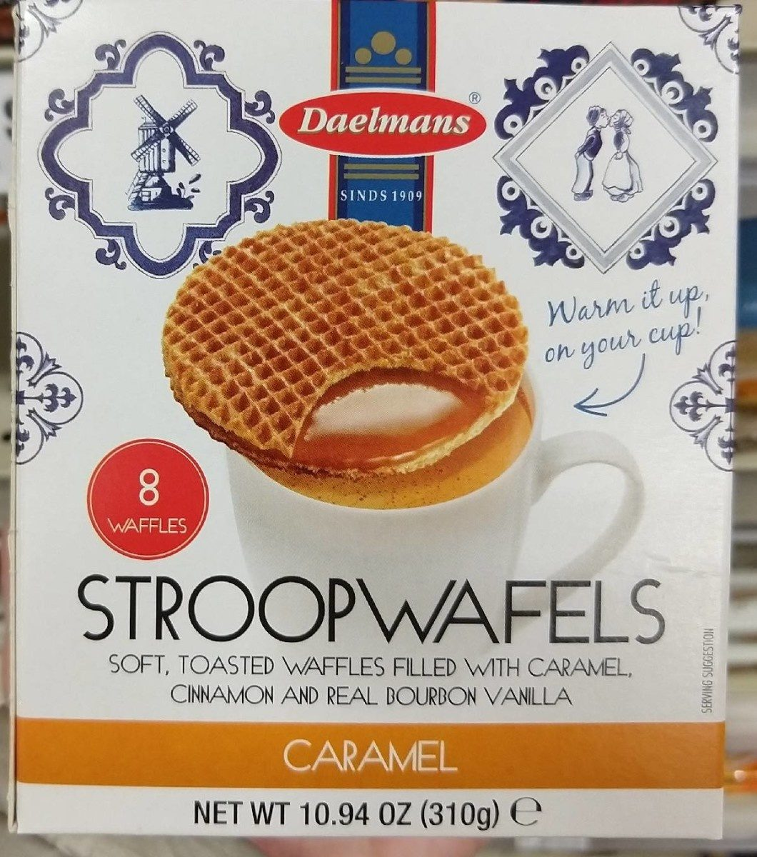 Daelmans, stroop wafels, caramel - Product - en