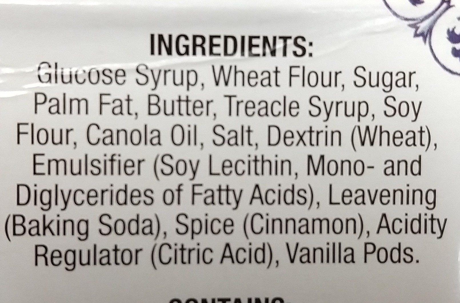 Daelmans, stroop wafels, caramel - Ingredients - en