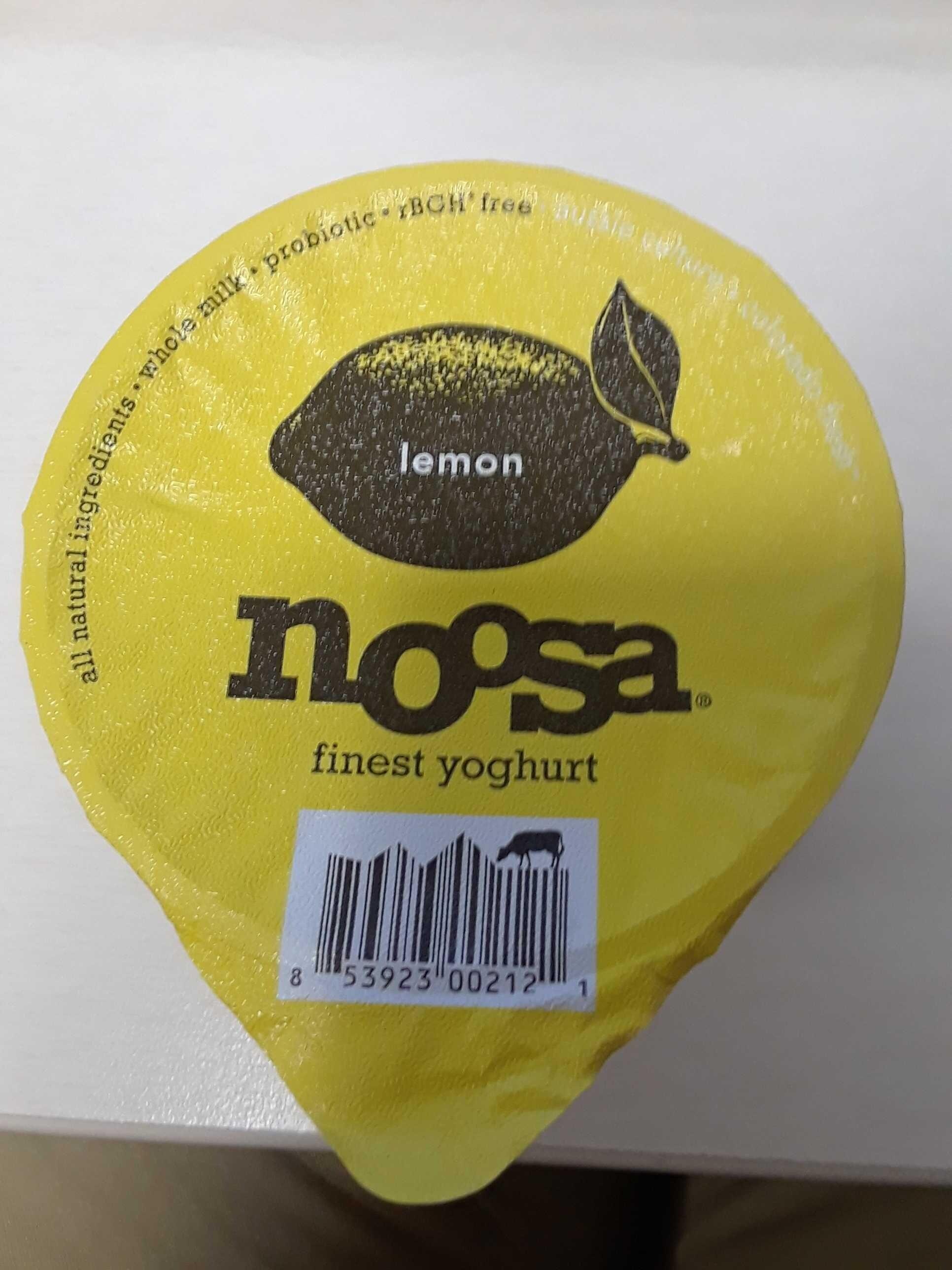 Lemon yoghurt - Product - en