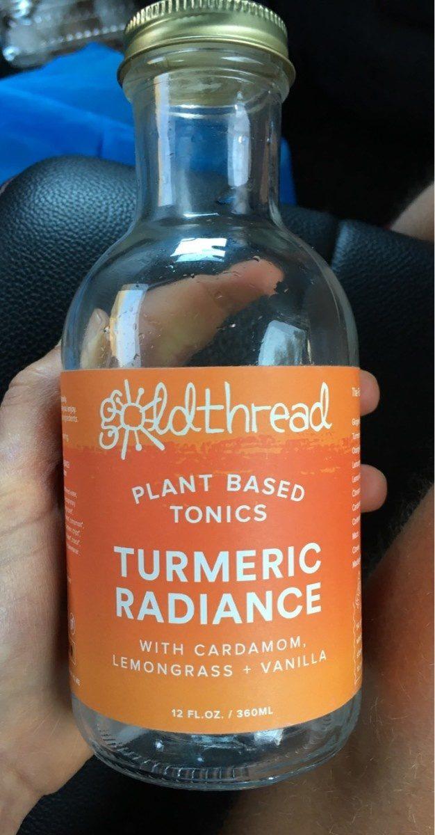 Turmeric radiance plant based tonics - Produit - fr