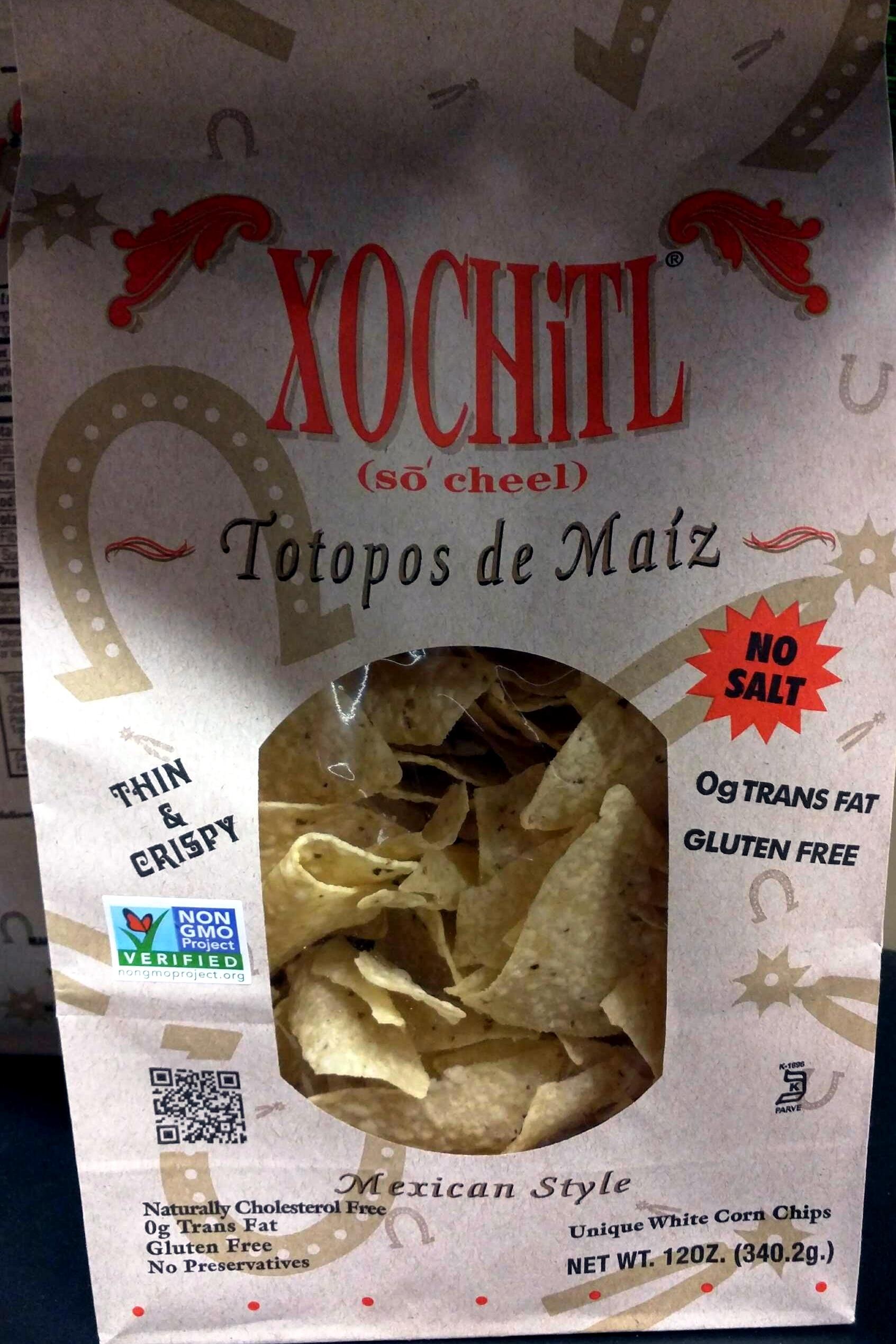 Thin & crispy corn chips mexican style - Produit - en