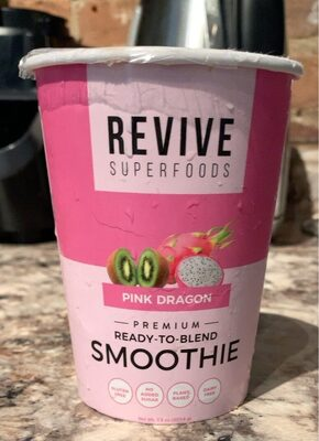 Pink dragon smoothie - Produit - fr