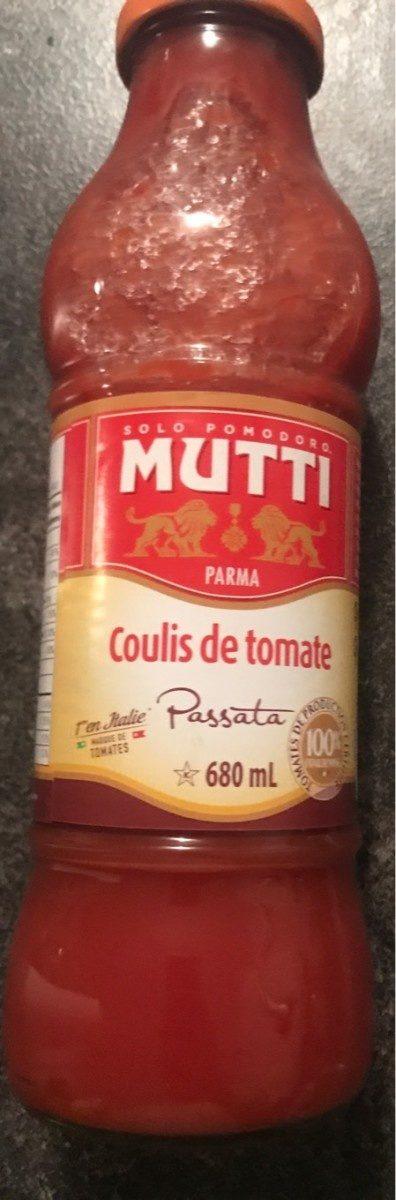 Mutti, Passata Coulis De Tomates 700G - Product