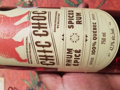 Spiced rum - Produit - en