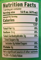 Sparkling hoptea - Nutrition facts - en