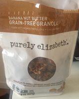 Banana nut butter grain free granola - Product