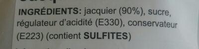 Jackfruit - Ingredients - fr