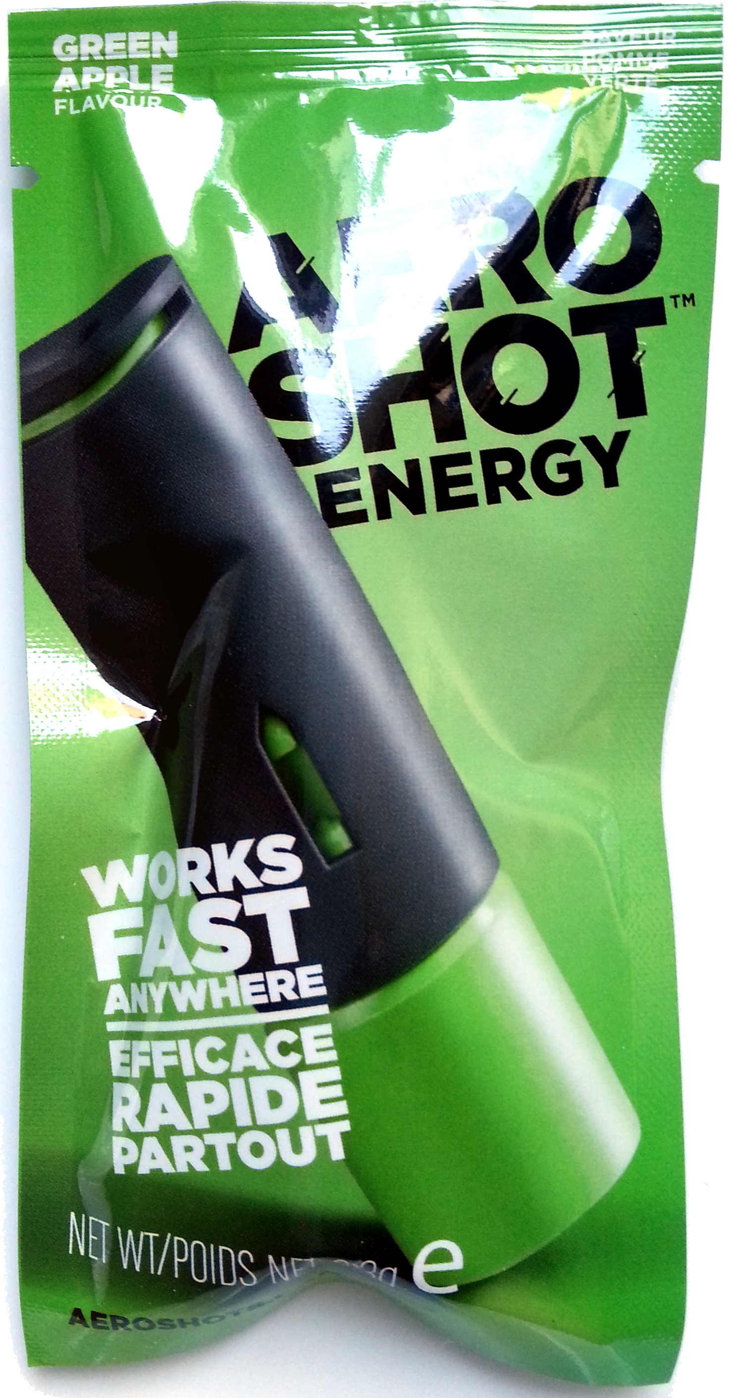 Aeroshot Energy Green Apple - Produit - fr