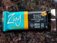 Zing Bar Peanut Butter Chocolate Chip - Product