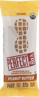 Perfect foods bar peanut butter - Product