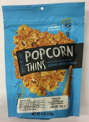 Crazy-good pressed popcorn - Product - en