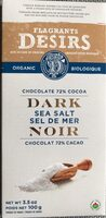 Chocolat Sel de mer noir - Product - fr