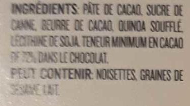 Quinoa noir - Ingredients