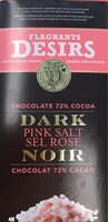 Chocolate Dark Pink Salt - Produit - fr