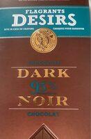 Chocolat noir 95% - Product - fr