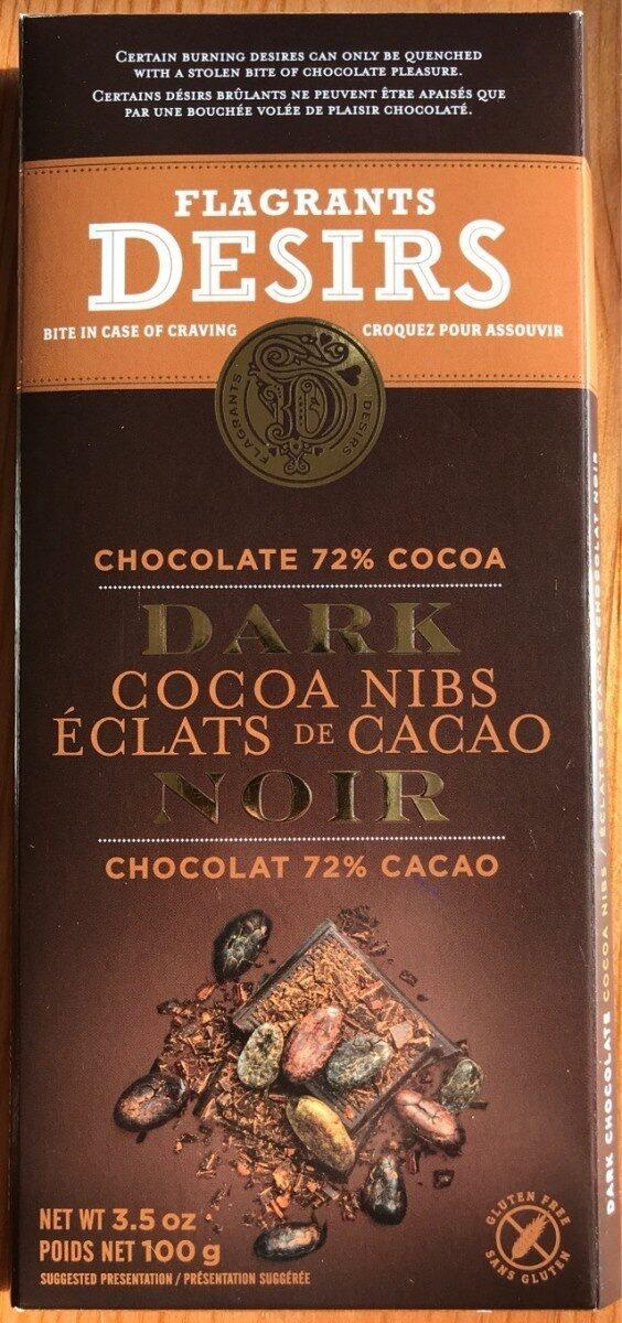 Chocolat noir Éclats de cacao - Product - fr