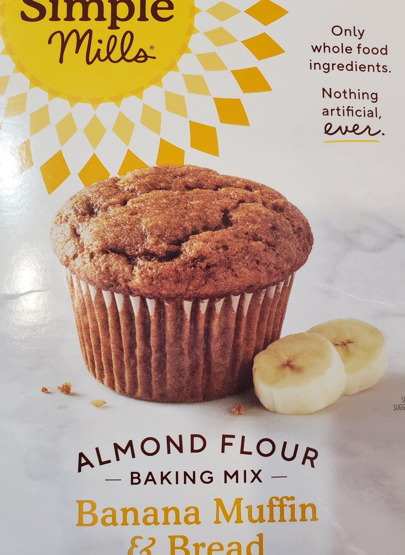 Simple mills, banana muffin - Produit - en