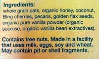 Muesli - Ingredients - en