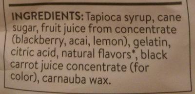 gourmet gummy teddies - Ingredients