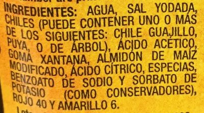 Tamuin Salsa - Ingrédients