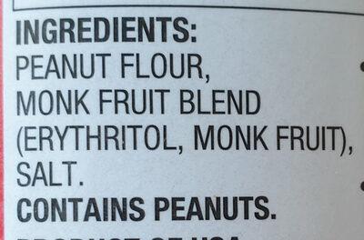 Peanut butter powder - Ingredienti - en