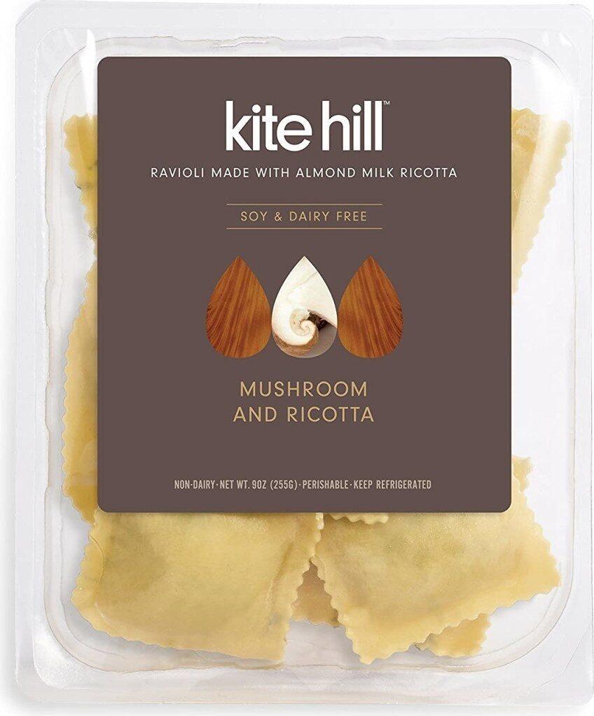 Mushroom and ricotta ravioli - Product - en