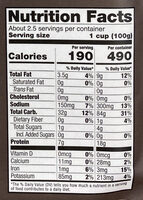 Kite Hill, Ravioli Made With Almonds Milk Ricotta - Nutrition facts - en
