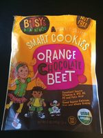 Organic Smart Cookies, Orange Chocolate Beet - Product - en
