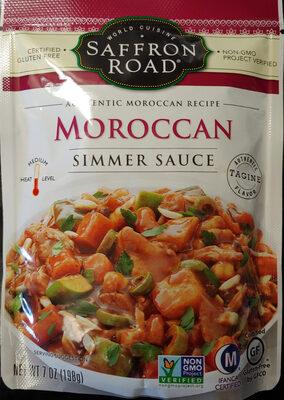 Simmer sauce, moroccan - Produit - en