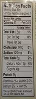 Simmer sauce, moroccan - Informations nutritionnelles - en